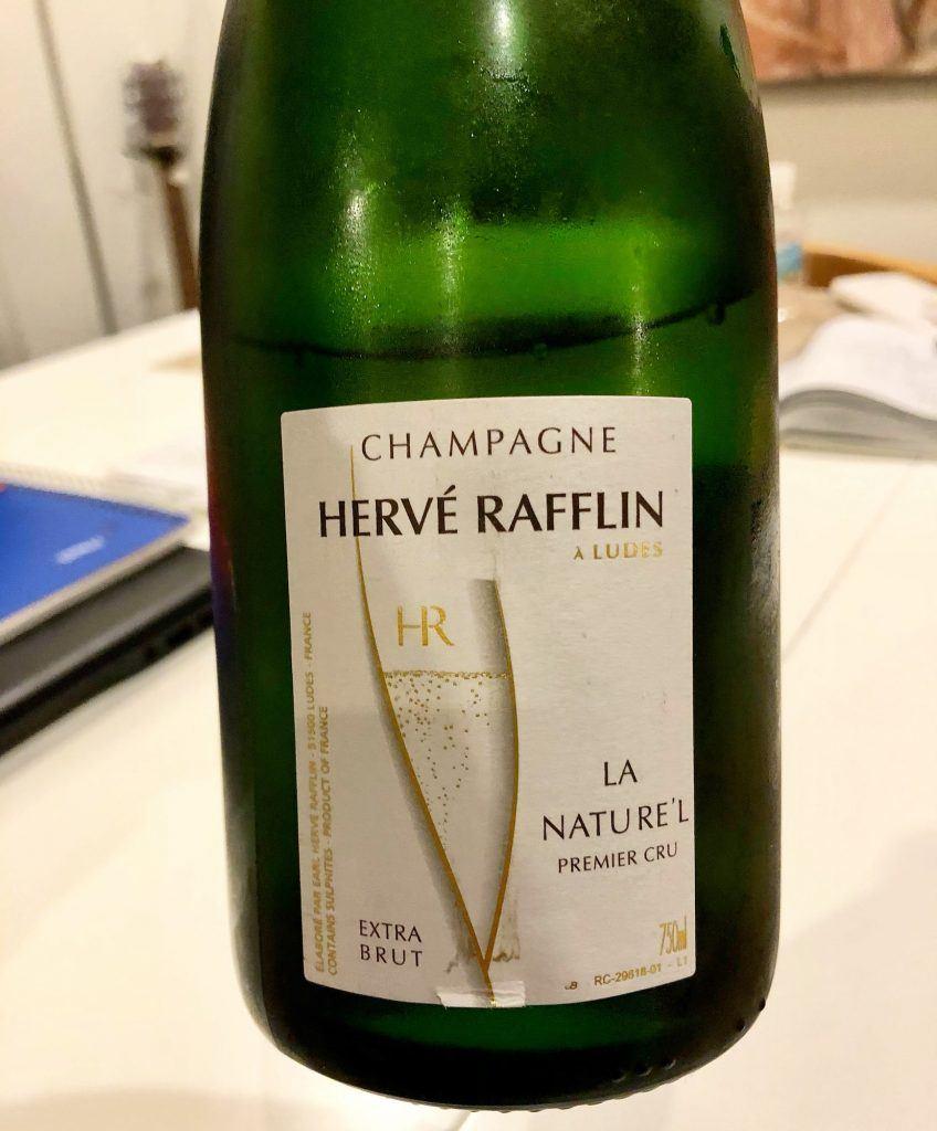 Hervé Rafflin, 'La Nature'L' Champagne 1er Cru Extra Brut (2016)